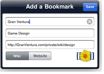Add a Bookmark